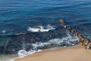 ocean coastline in Ericeira