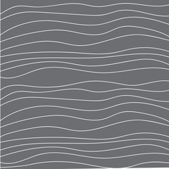 wave line, vector illustration