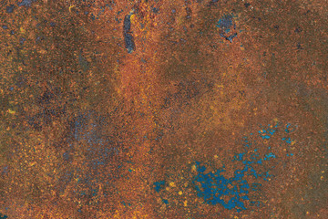 Background texture of dirty rusty metal surface