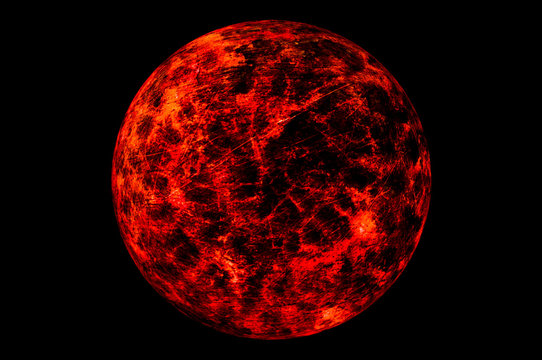 Red planet. moon. asteroid. satellite. giant. New gas giant. Planet explosion.