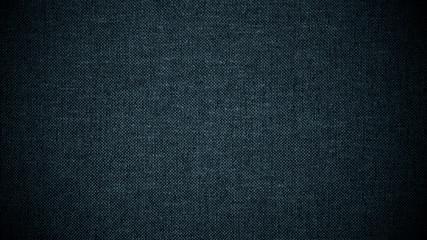 Dark blue linen canvas. The background image, texture.