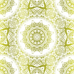Modern Decorative seamless Floral pattern. Vector colored illustration. paper for scrapbook.