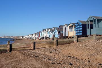 Thorpe Bay Beach, Essex, England