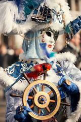 Venetian carnival outfit