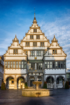 The City Hall of Paderborn