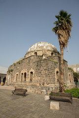 Abandoned mosque in the center of Tiberias in Israel