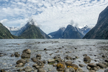 Milford Sound Fjordland, New Zealand, South Island, NZ