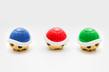 Plastic Toy Super Mario Characters