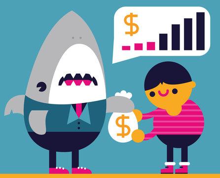 Loan Shark Lends Money to a Fool