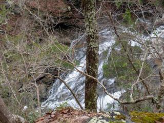 Salt Creek Falls in the Talladega National Forest in Alabama, USA