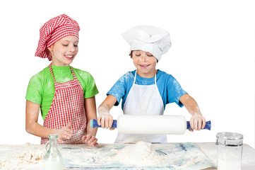 Littlle funny bakers