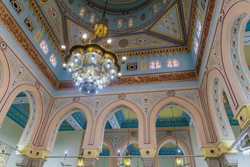 Interior of Jumeirah Mosque in Dubai, UAE