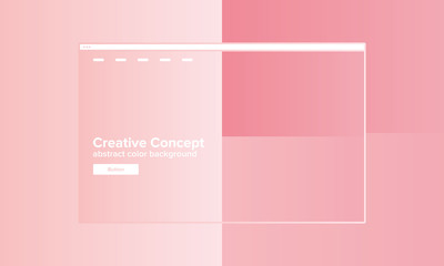 Abstract geometric background with bright colors. Creative web design concept for start page. User experience