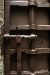 Iron jail door