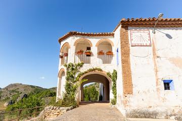 Virgin of Saint Daniel hermitage next to Ibdes town, province of Zaragoza, Aragon, Spain Fotomurales