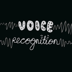 Hand lettering voice recognition with sound waves.