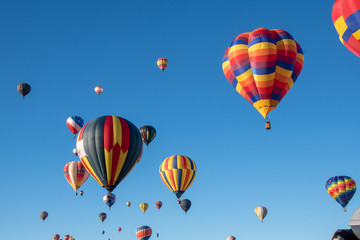 Canvas Prints Balloon hot air balloons in the sky