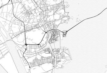Area map of Macau, Macau
