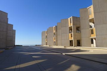 Courtyard of Salk Institute