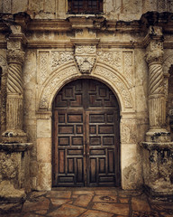 Front Door to the Alamo Mission