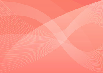 Coral pantone abstract background