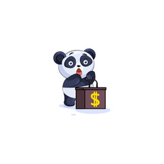 panda sticker emoticon orator speaker