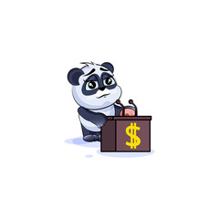 panda bear sticker emoticon training presentation