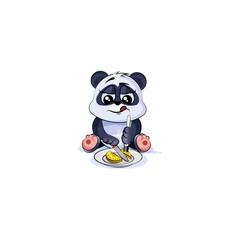 panda bear business shares coin money
