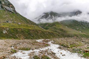 Landscape between Batal and Gramphu (Himachal Pradesh)