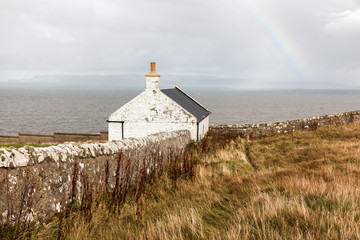 Dunnet Head the most Northerly point of Mainland Britain in Scotland