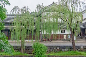 Foto op Plexiglas Asia land 倉敷美観地区 倉敷川畔の商家