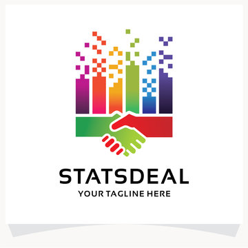 Stats Deal Logo Design Template Inspiration