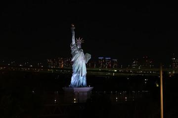 東京お台場ベイブリッジ夜景