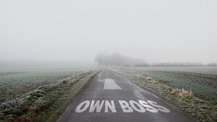 Sign 402 - OWN BOSS