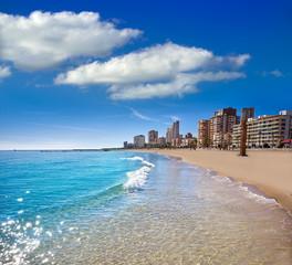 Campello of Alicante Carrer la Mar beach