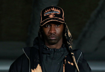 Andrea Crews Fall/Winter 2019-2020 collection show during Men's Fashion Week in Paris