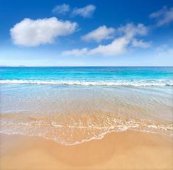 San Juan of Alicante beach playa Spain