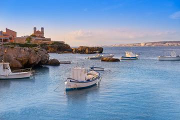Nova Tabarca island port in Spain