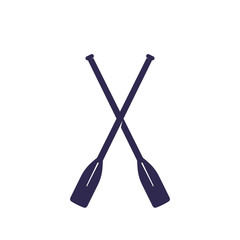 oars vector illustration