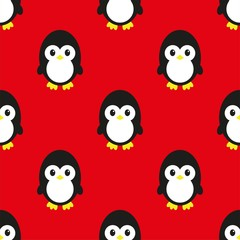 seamless pinguin pattern