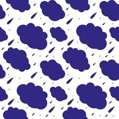 rain slouds pattern