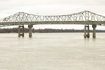 railroad bridge over the Tennessee River