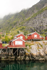 Nusfjord town in Norway