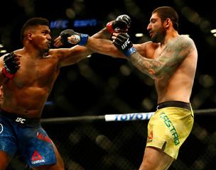 MMA: UFC Fight Night-Brooklyn-Menifield vs Castro