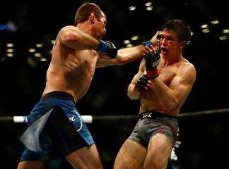 MMA: UFC Fight Night-Brooklyn-Hernandez vs Cerrone