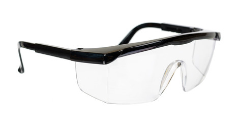 Protective workwear to protect human eyes, safety glasses Wall mural
