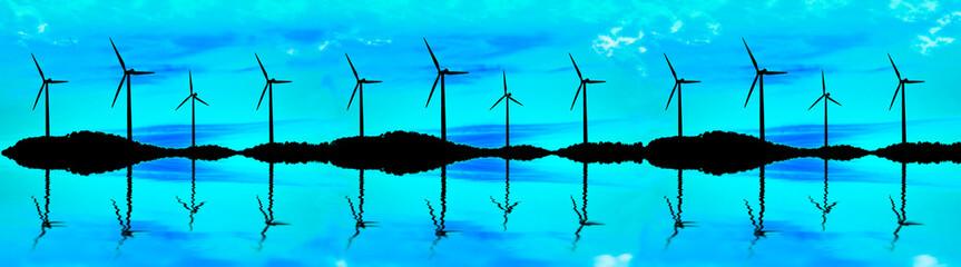paisaje de energia renovables