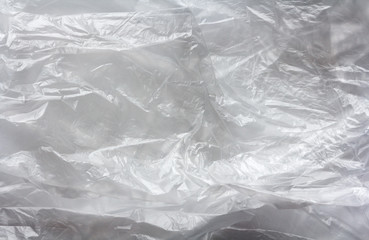 transparent plastic bag texture, abstract background