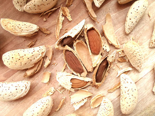 Whole Broken Cracked Almond Nuts