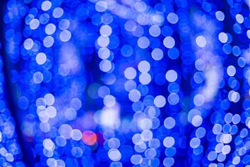 bluish black. Bokeh abstract light background